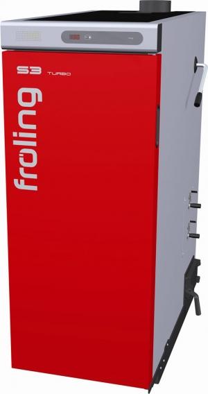 S3 Turbo  la chaudière à bois bûches de 18  à 45 KW classe 5 de la norme NF EN 303.5
