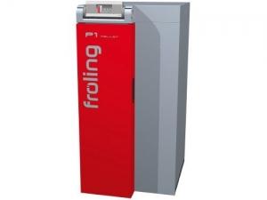 Chaudière FROLING P1 à granulés : La solution compacte, simple et modulaire pour votre chauffage classe 5 de la norme NF EN 303.5