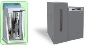 STATION TECHNIQUE    AUER pulsatoire  (GAZ)  DOMUSA   bioclass NG      (PELLET)